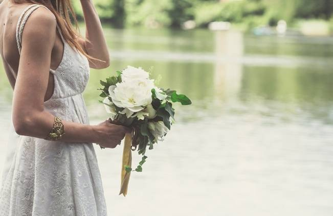 Charming DIY Woodsy Wedding {Bonnallie Brodeur Photography} 10