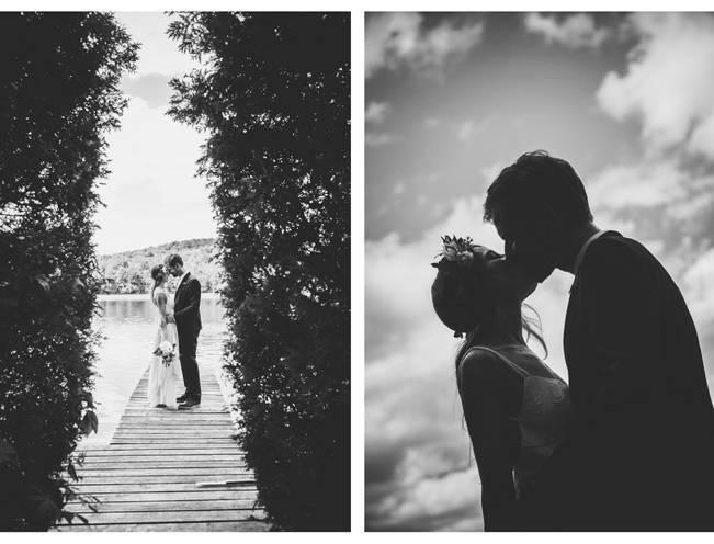 Charming DIY Woodsy Wedding {Bonnallie Brodeur Photography} 12