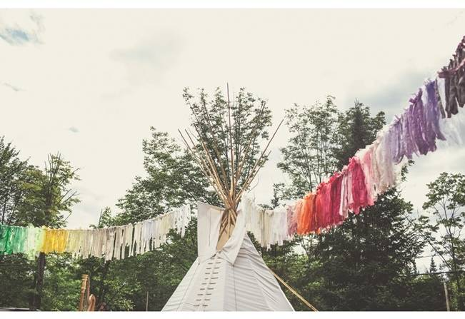 Charming DIY Woodsy Wedding {Bonnallie Brodeur Photography} 14