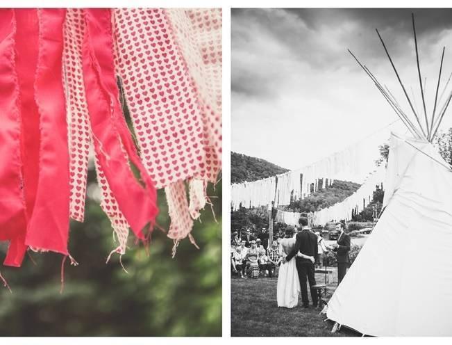 Charming DIY Woodsy Wedding {Bonnallie Brodeur Photography} 16