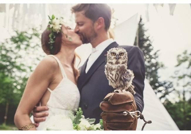 Charming DIY Woodsy Wedding {Bonnallie Brodeur Photography} 18