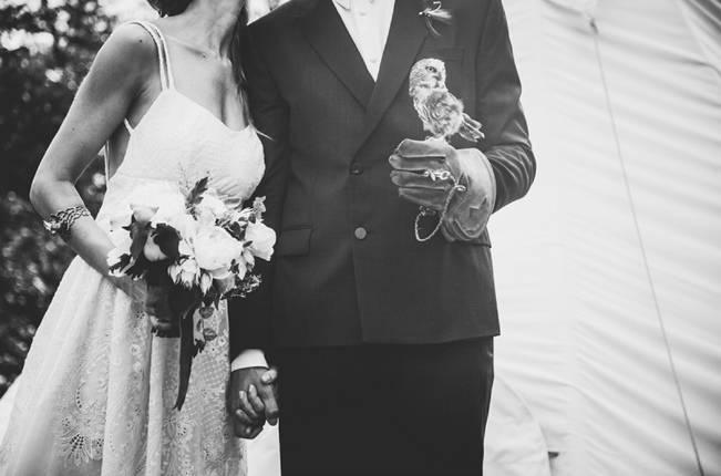 Charming DIY Woodsy Wedding {Bonnallie Brodeur Photography} 19