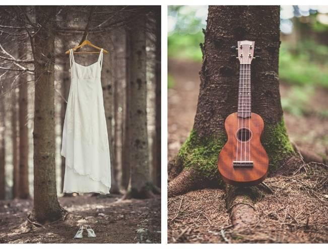 Charming DIY Woodsy Wedding {Bonnallie Brodeur Photography} 2