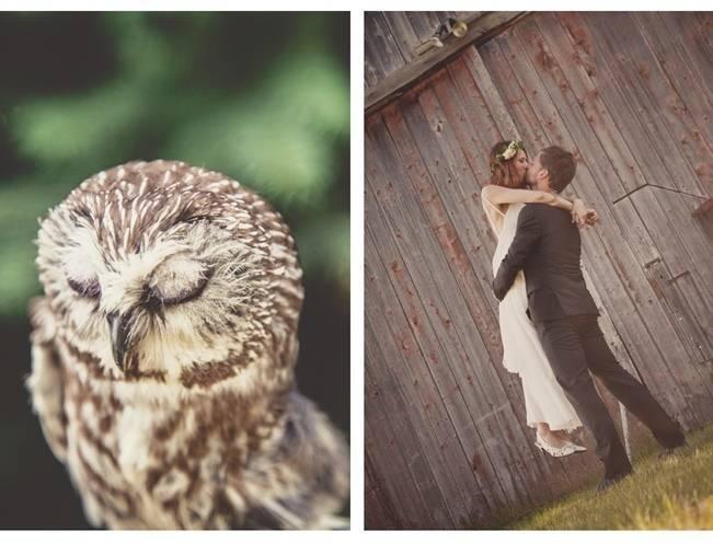 Charming DIY Woodsy Wedding {Bonnallie Brodeur Photography} 20