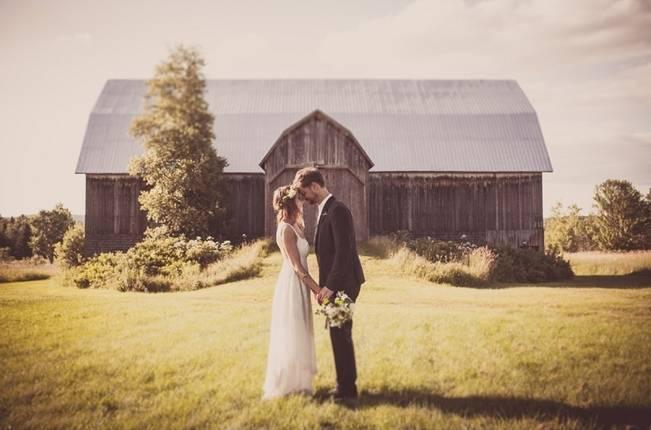 Charming DIY Woodsy Wedding {Bonnallie Brodeur Photography} 21