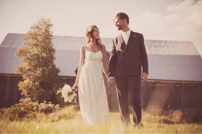 Charming DIY Woodsy Wedding {Bonnallie Brodeur Photography} 23
