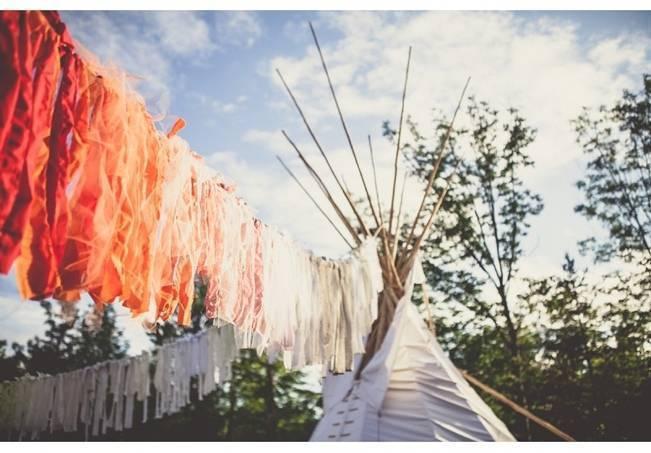 Charming DIY Woodsy Wedding {Bonnallie Brodeur Photography} 24