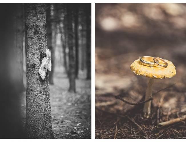 Charming DIY Woodsy Wedding {Bonnallie Brodeur Photography} 4
