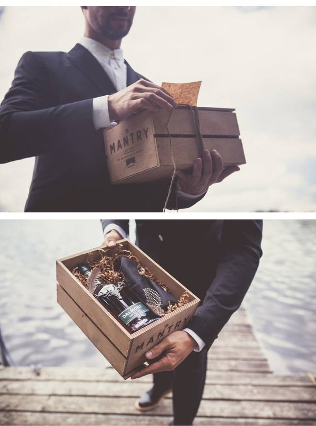 Charming DIY Woodsy Wedding {Bonnallie Brodeur Photography} 8