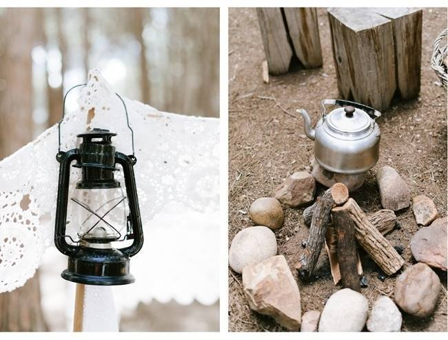 Enchanted Forest Styled Wedding Shoot {Yolande Marx} 10