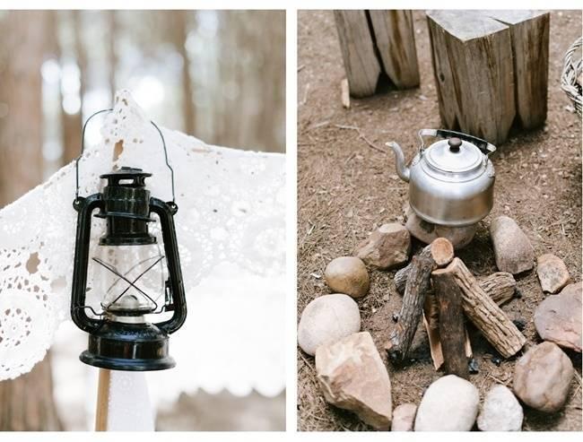 Enchanted Forest Styled Wedding Shoot {Yolande Marx} 10