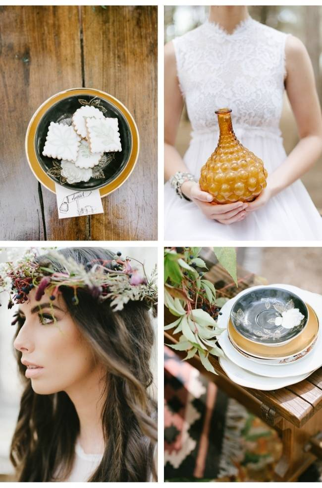 Enchanted Forest Styled Wedding Shoot {Yolande Marx} 12