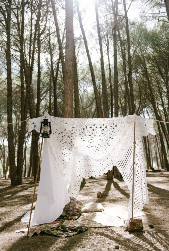Enchanted Forest Styled Wedding Shoot {Yolande Marx} 13