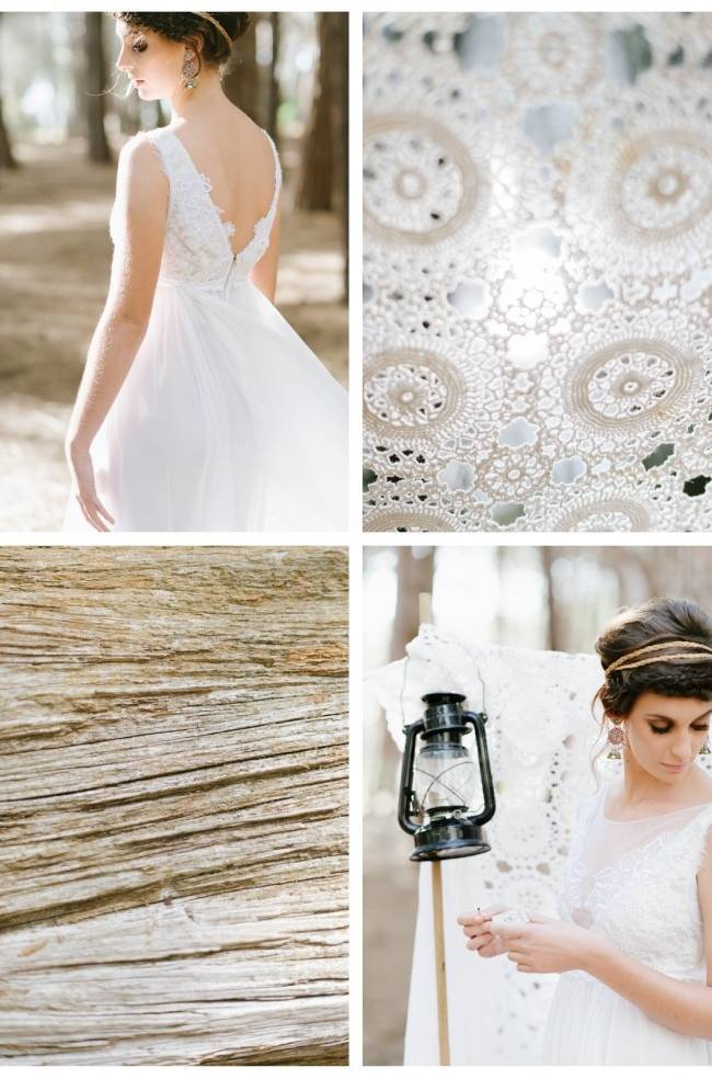 Enchanted Forest Styled Wedding Shoot {Yolande Marx} 14