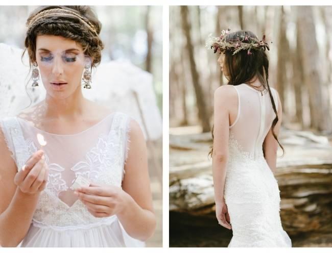 Enchanted Forest Styled Wedding Shoot {Yolande Marx} 16