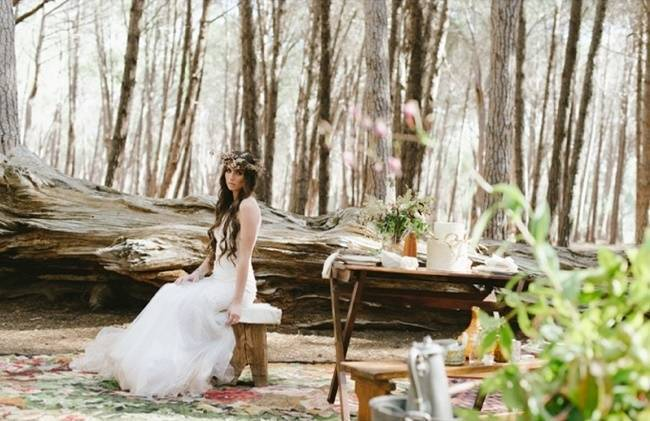 Enchanted Forest Styled Wedding Shoot {Yolande Marx} 5
