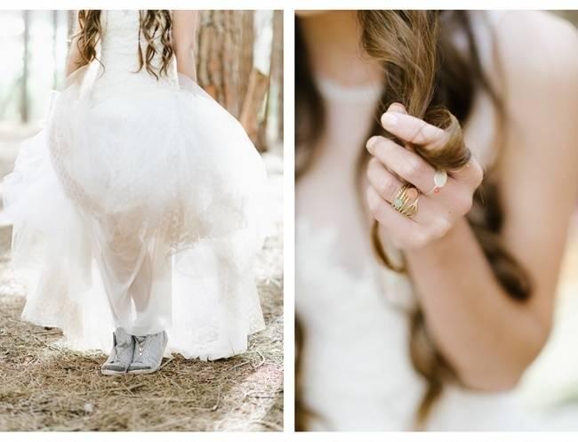 Enchanted Forest Styled Wedding Shoot {Yolande Marx} 6