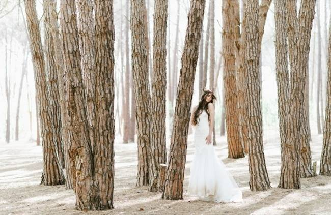 Enchanted Forest Styled Wedding Shoot {Yolande Marx} 7