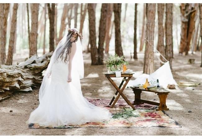 Enchanted Forest Styled Wedding Shoot {Yolande Marx} 8