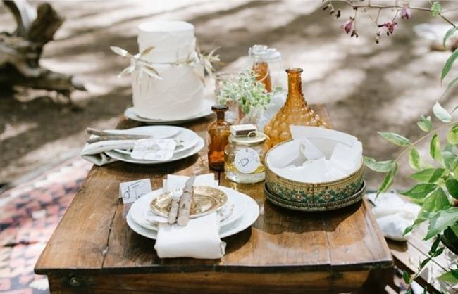 Enchanted Forest Styled Wedding Shoot {Yolande Marx} 9