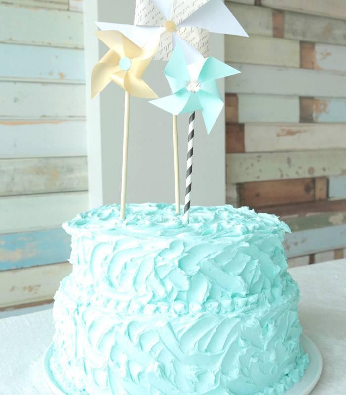 Textured Buttercream Wedding Cake