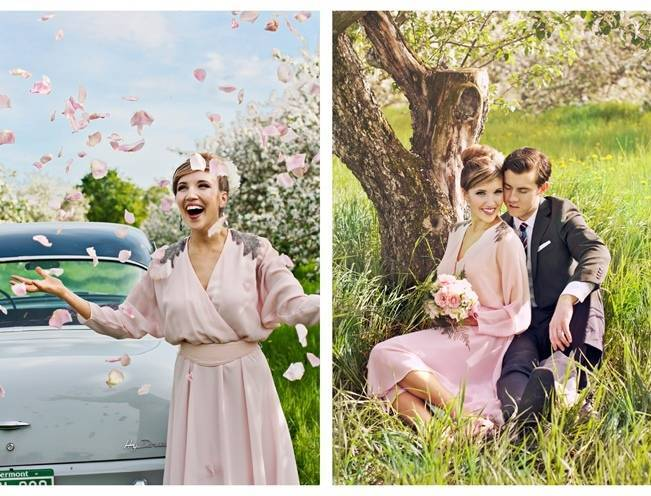Vermont Vintage Orchard Shoot {Lis Photography} 15