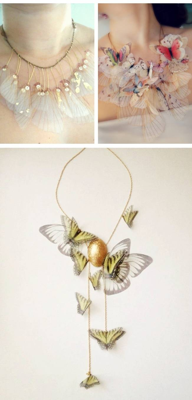Wedding-Worthy Nature Inspired Necklaces 5