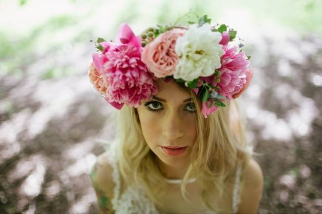 Woodland Floral Inspiration Shoot {Free The Bird Photography}