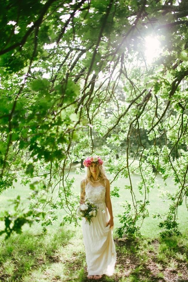 Woodland Floral Inspiration Shoot {Free The Bird Photography} 3