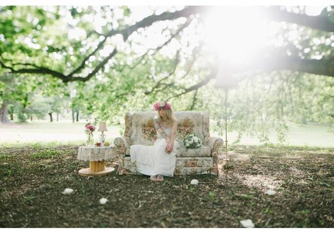 Woodland Floral Inspiration Shoot {Free The Bird Photography} 7