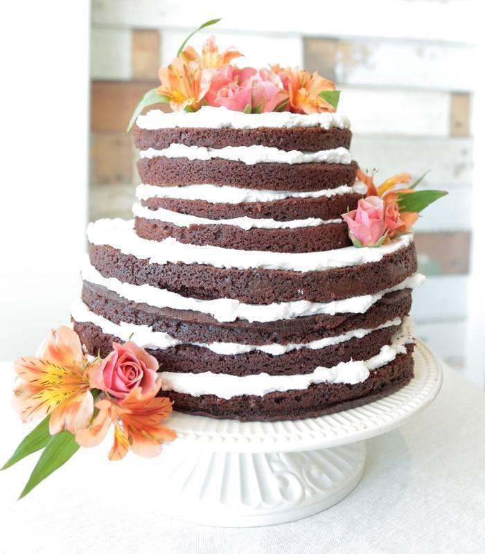 naked cake tutorial
