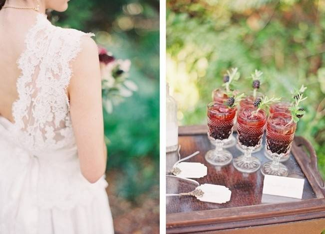 Blackberry Woods Wedding Inspiration at Villa Woodbine - Michelle March Photography 17