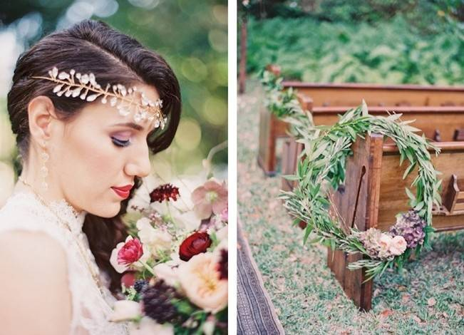 Blackberry Woods Wedding Inspiration at Villa Woodbine - Michelle March Photography 9