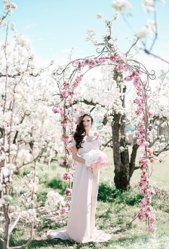 Blossoming Blush Orchard Elopement {Organic Album} 10