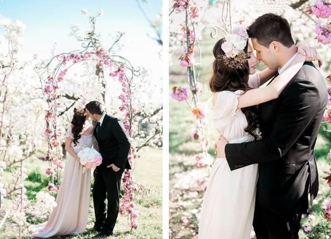 Blossoming Blush Orchard Elopement {Organic Album} 11