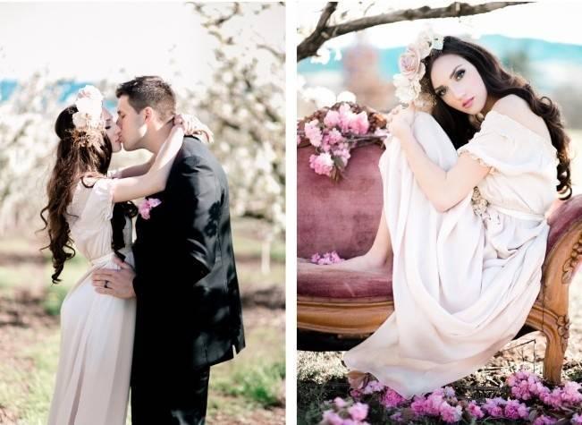 Blossoming Blush Orchard Elopement {Organic Album} 14
