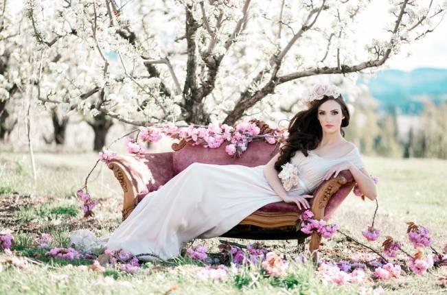 Blossoming Blush Orchard Elopement {Organic Album} 15