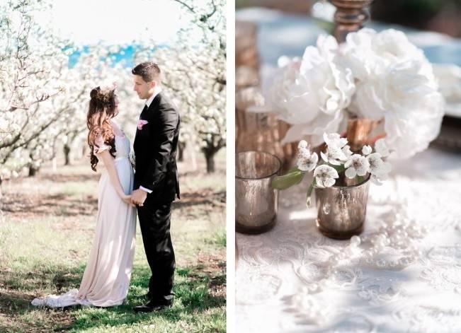 Blossoming Blush Orchard Elopement {Organic Album} 16