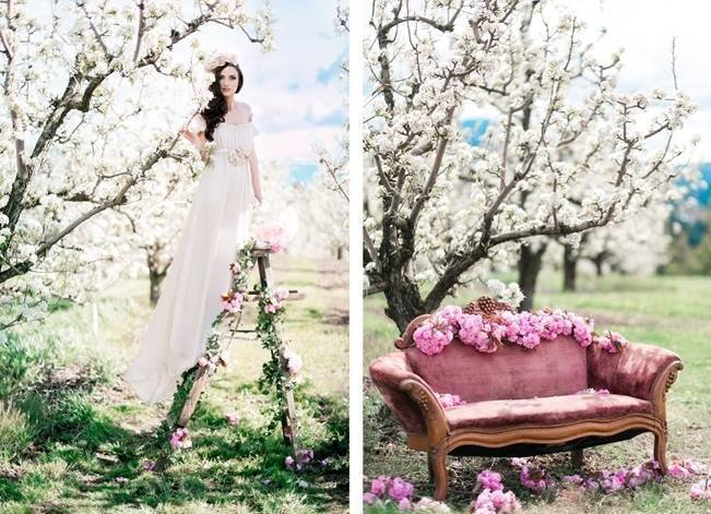 Blossoming Blush Orchard Elopement {Organic Album} 2