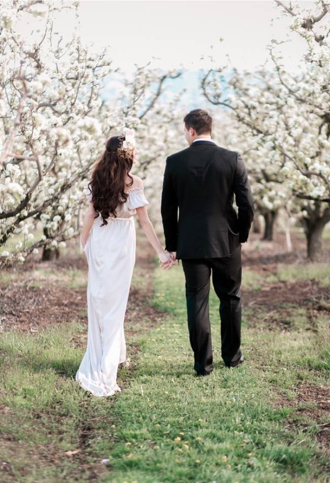 Blossoming Blush Orchard Elopement {Organic Album} 22