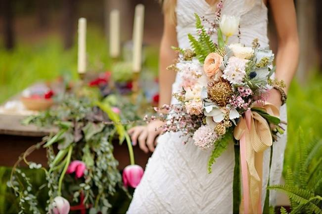 Bohemian Gypsy Bridal Inspiration {Pure Sugar Studios}