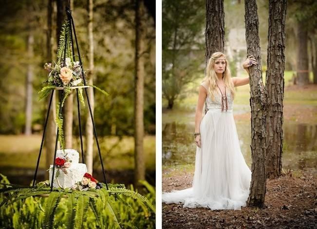 Bohemian Gypsy Bridal Inspiration {Pure Sugar Studios} 12