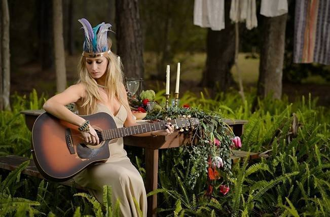 Bohemian Gypsy Bridal Inspiration {Pure Sugar Studios} 14