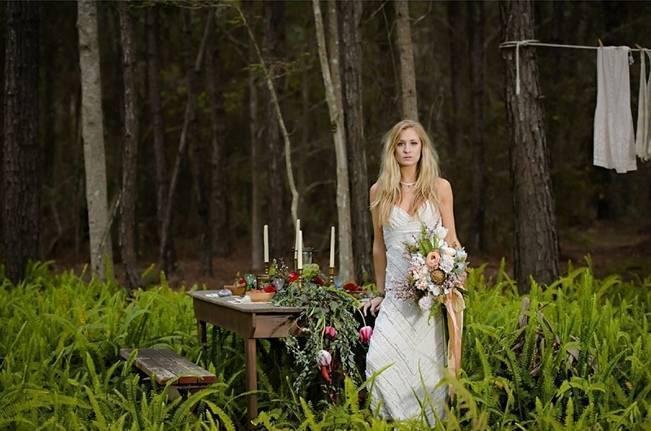 Bohemian Gypsy Bridal Inspiration {Pure Sugar Studios} 3
