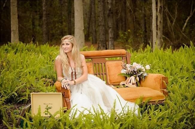 Bohemian Gypsy Bridal Inspiration {Pure Sugar Studios} 6