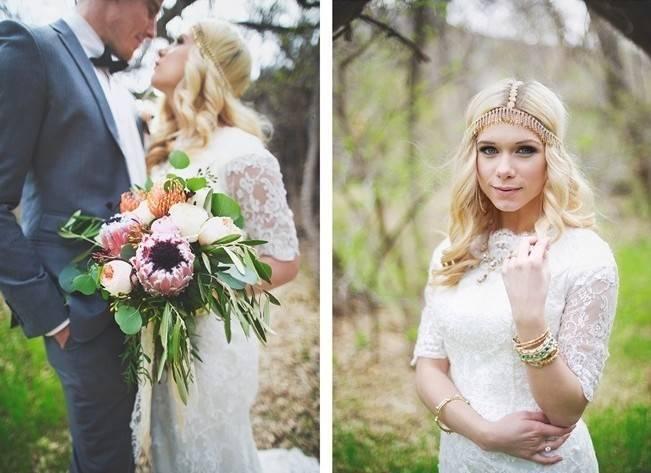 Bohemian Romance Styled Wedding {Cassandra Farley Photography} 14
