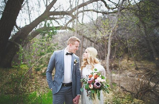 Bohemian Romance Styled Wedding {Cassandra Farley Photography} 15