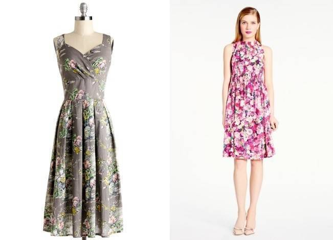Floral Bridesmaid Dresses 9