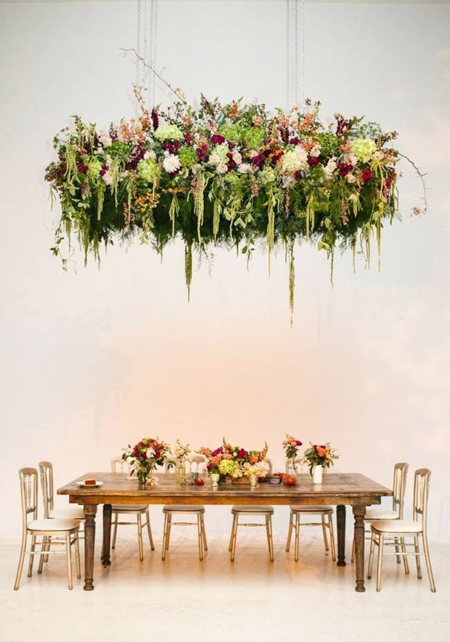 Inspirational Hanging Floral Installations 7