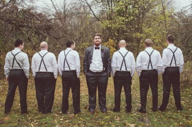 Red Autumn Rustic Wedding {Amy Zumwalt Photographers} 11